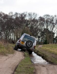 offroading landrover