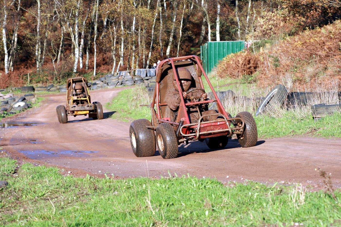 dirt duggy driving