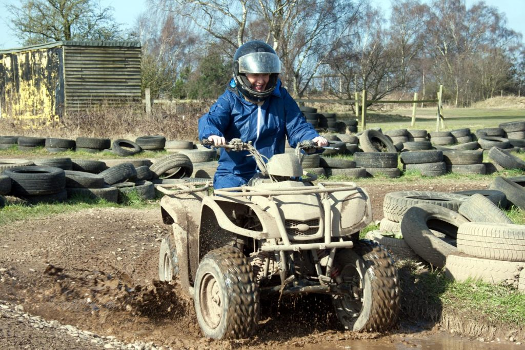 quad biking nottingham