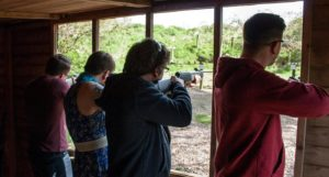 rifle shooting shed